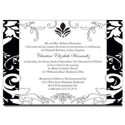 quinceanera invitations sweet 15 invitations for quince anos