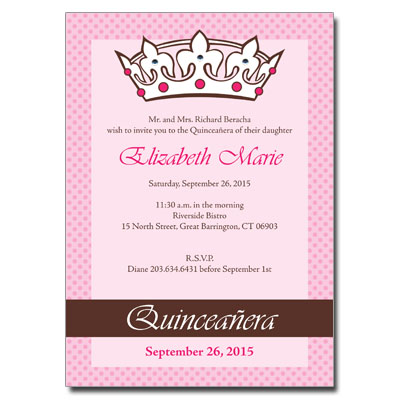 Quinceanera invitation wording english quinceanera invitation wording english stopboris Images