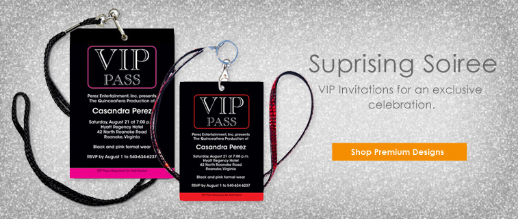 Vip Pass Invitations was luxury invitations template