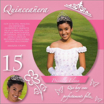 Quinceanera Princess Gift Wrap